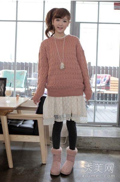 毛衣时髦翻身 冬天打底温暖大方