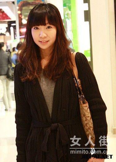 12月上海来福士广场 时尚潮人街拍